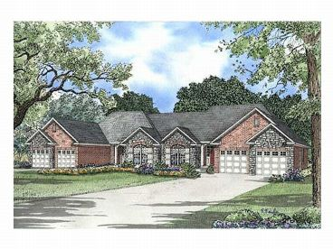 Multi-Family House Plan, 025M-0034