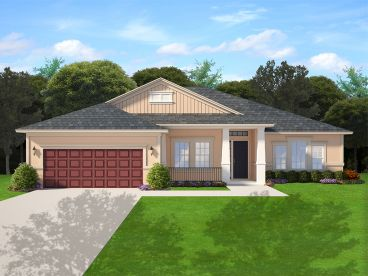 Empty-Nester House Plan, 064H-0102