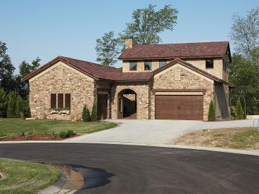 Empty-Nester Home Plan, 020H-0279