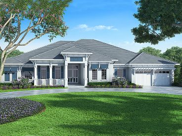 Luxury House Plan, 069H-0016