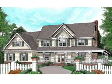 2-Story House Plan, 044H-0038