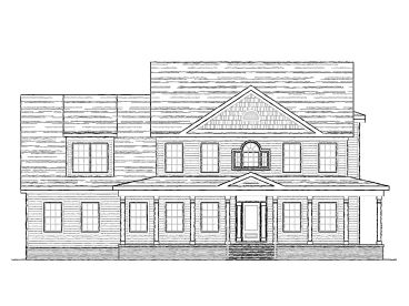 Country House Plan, 058H-0112