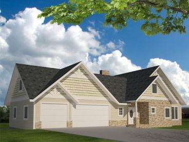 Traditional House Plan, 012H-0219