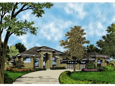 Mediterranean Home Plan, 043H-0129