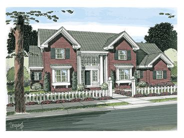 Two-Story Home Design, 059H-0116