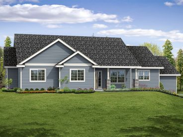 Small Ranch House Plan, 051H-0261