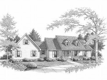 One-Story Home Design, 004H-0066