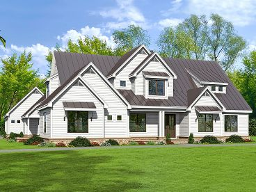Country House Plan, 062H-0121
