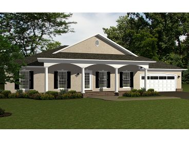 Sunbelt House Plan, 004H-0106