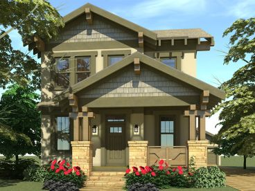 Craftsman House Plan, 052H-0102