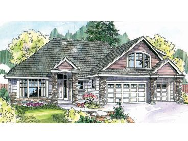 1-Story Home Plan, 051H-0151