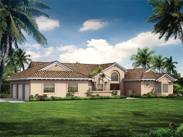 Florida House Plan, 057H-0031