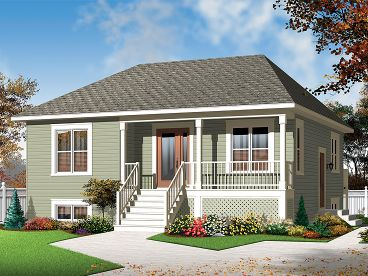 Vacation Home Plan, 027H-0232
