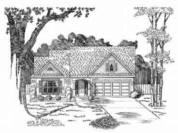 1-Story Home Plan, 019H-0079