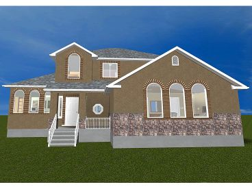 Luxury Home Plan, 065H-0009