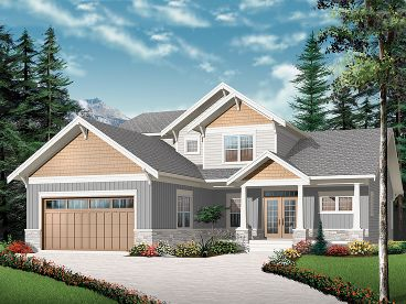 Craftsman House Plan, 027H-0274