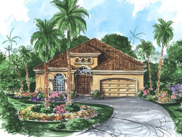 Ranch House Plan, 040H-0048