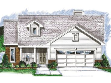 Narrow Lot Home Design, 031H-0121