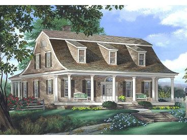 Unique House Plan, 063H-0041