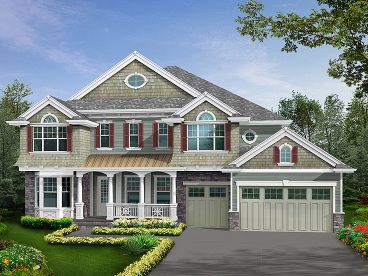 Two-Story House Plan, 035H-0089