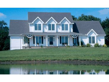Country Home Plan, 031H-0020