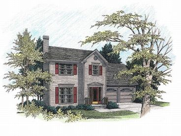 Cape Cod Home Plan, 007H-0016