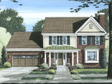 Affordable Home Plan, 046H-0061
