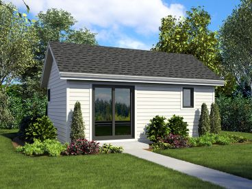 Cottage House Plan, 034H-0435