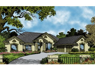 Florida Home Design, 043H-0135