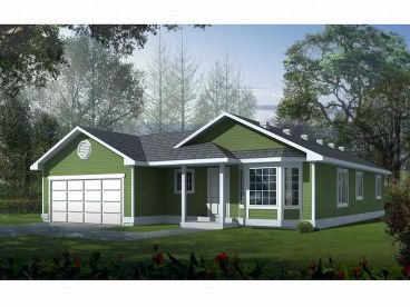 Vacation House Design, 026H-0036