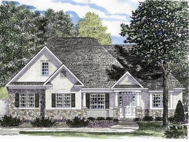 European House Plan, 014H-0014