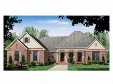 Ranch House Plan, 001H-0098
