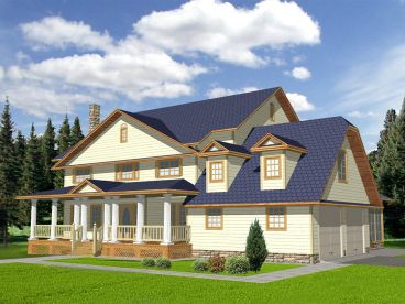Southern Country Home, 012H-0026