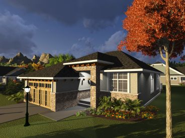 Small Home Plan, 020H-0388