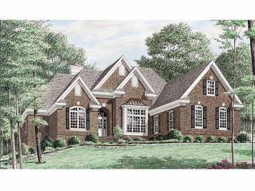 One-Story Home Plan, 011H-0019