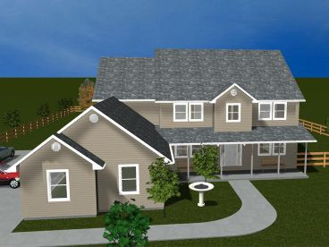 Two-Story Home Plan, 065H-0001