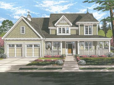 Country House Plan, 046H-0162