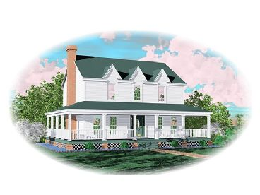 Country House Plan, 006H-0002