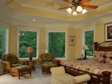 Master Bedroom Photo, 019H-0034