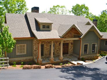 Mountain House Plan, 053H-0065