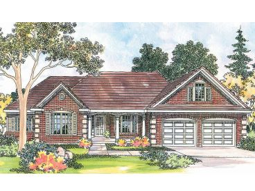 Traditional House Plan, 051H-0069