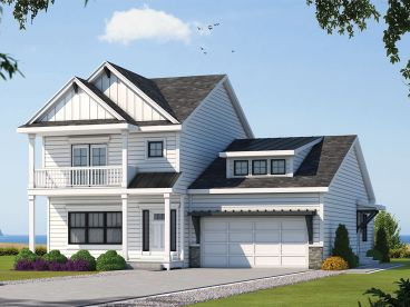 Multi-Generational House Plan, 031H-0391