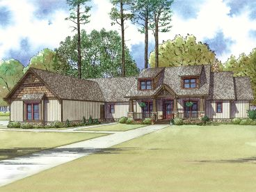 Craftsman House Plan, 074H-0022