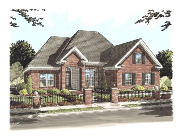 Traditional House Plan, 059H-0080