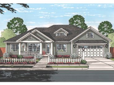 Traditional Home Plan, 059H-0198