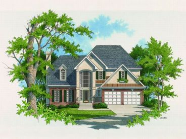European Home Plan, 030H-0054