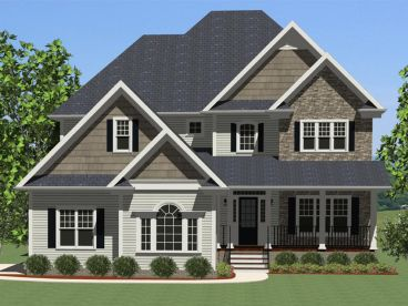 Two-Story House Plan, 067H-0017