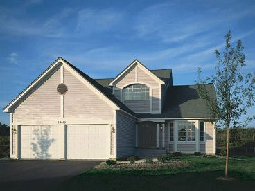 Two-Story House Plan, 022H-0060