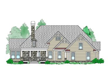 Mountain House Design, 053H-0079