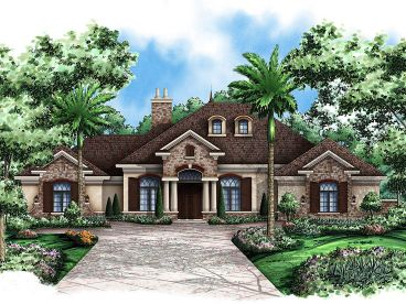Luxury Ranch Home, 037H-0137